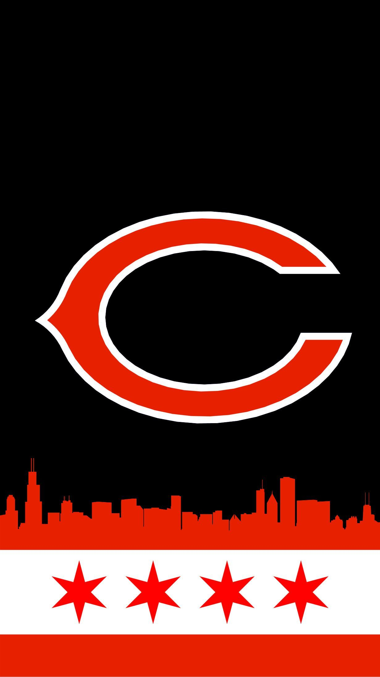 Chicago Bears Mobile Background Windy City Gridiron Chicago Bears Pictures Chicago Bears Chicago Bears Logo