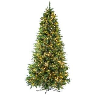 Decorate For The Season With This Beautiful 12 Foot Yuletide Pine Tree With Lights Pre Lit Christmas Tree Diy Christmas Ornaments Easy 12 Foot Christmas Tree