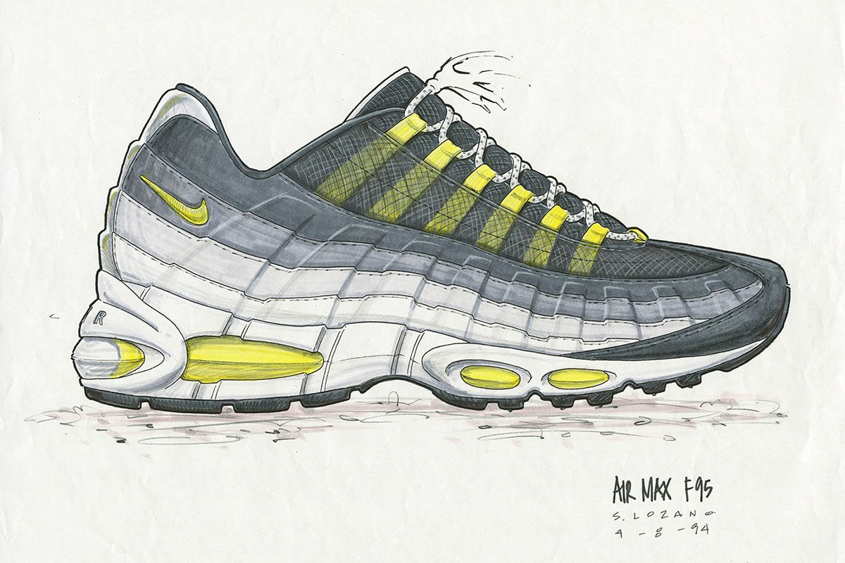 Nike Air Max 95: The Origin Story (Including Original