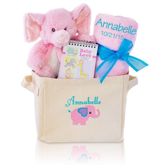Welcome Home Baby Girl Gift Tote Unique Baby Gifts