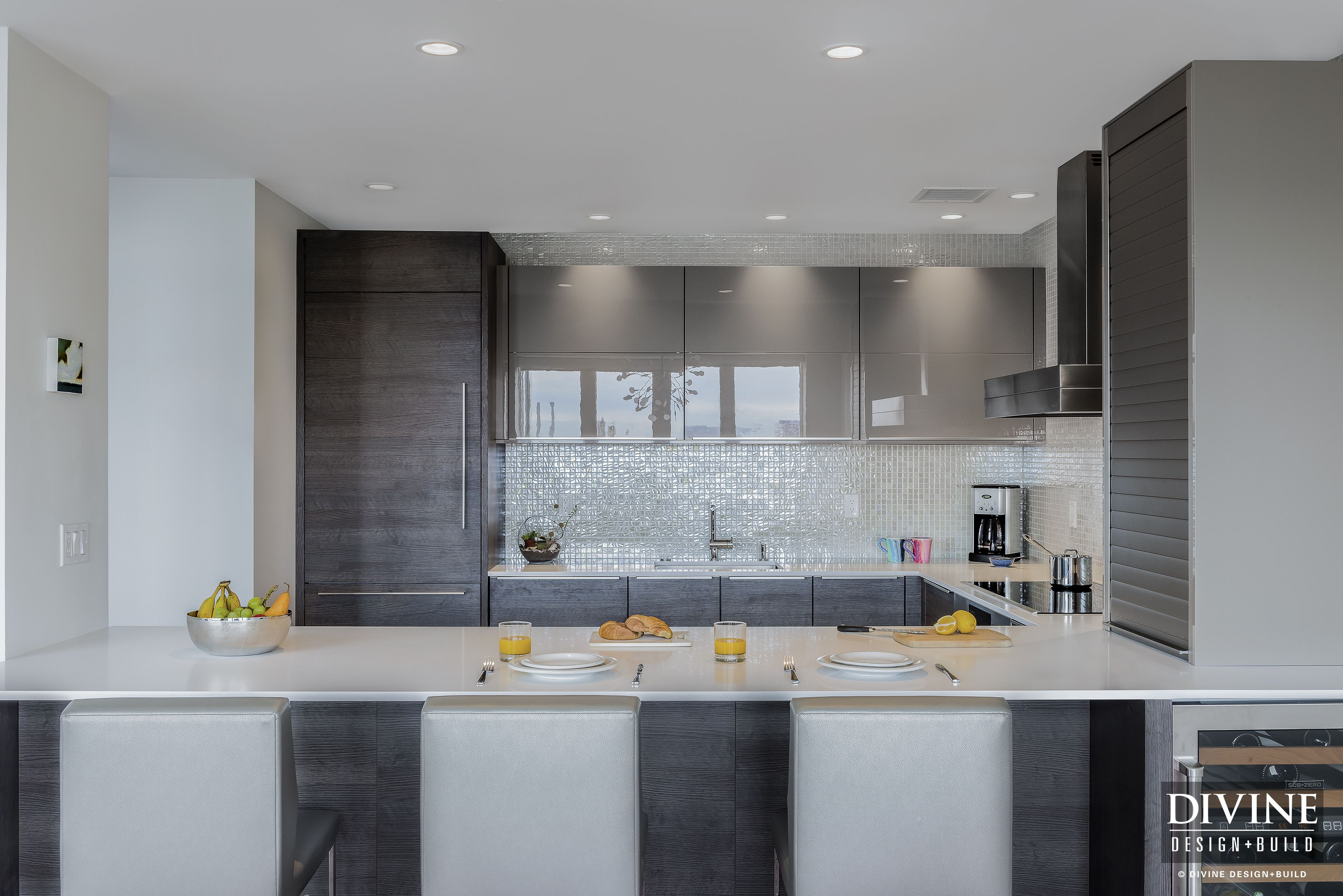 A Flagship Wharf kitchen remodel now shines like a silver beacon ...