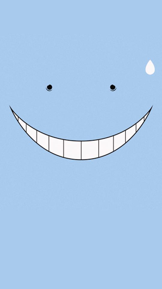 S P I R I T I O N Koro Sensei Face Assassination Classroom Anime Wallpaper