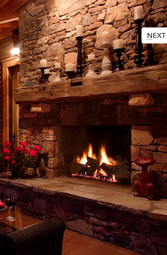 Love The Old Timber Used For Fireplace Mantle I Have An Barn Beam That Is Waiting To Be In Our Design More