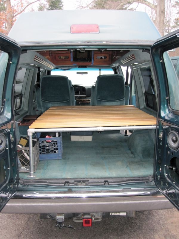 94 Ford E150 Conversion Van Road Trip Get Away Vehicle Van