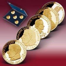 Funfer Set Goldneupragung 5 D Mark Pragung Wertvolle Munzen D Mark