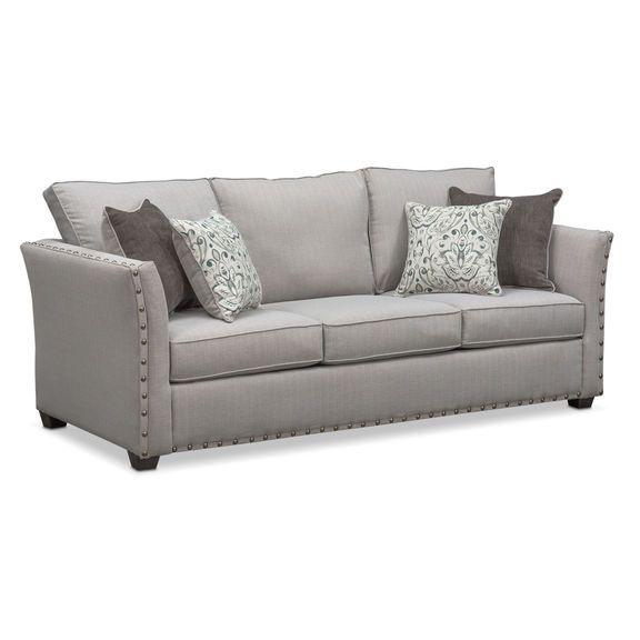 Mckenna Queen Innerspring Sleeper Sofa Pewter