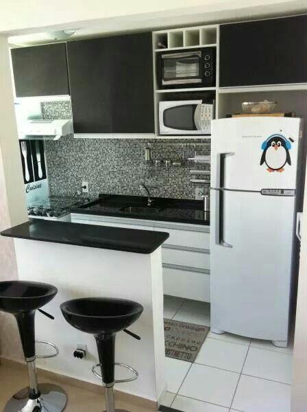 Cocina espacio pequeño | Pequeños espacios, grandes ideas ...