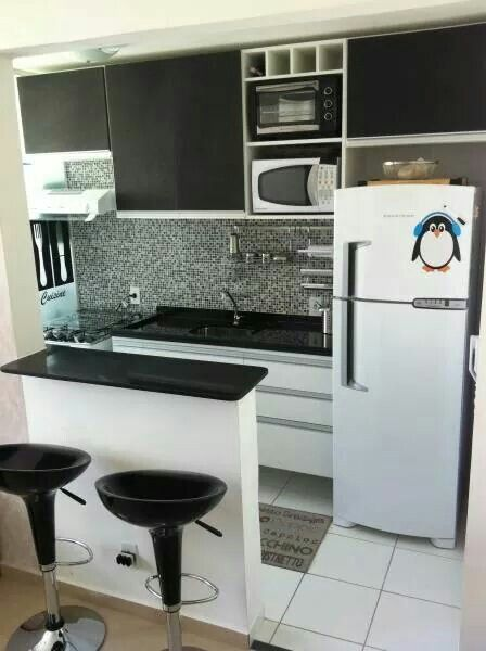 Cocina espacio pequeño | Coci | Pinterest | Küchen ideen, Haus hacks ...