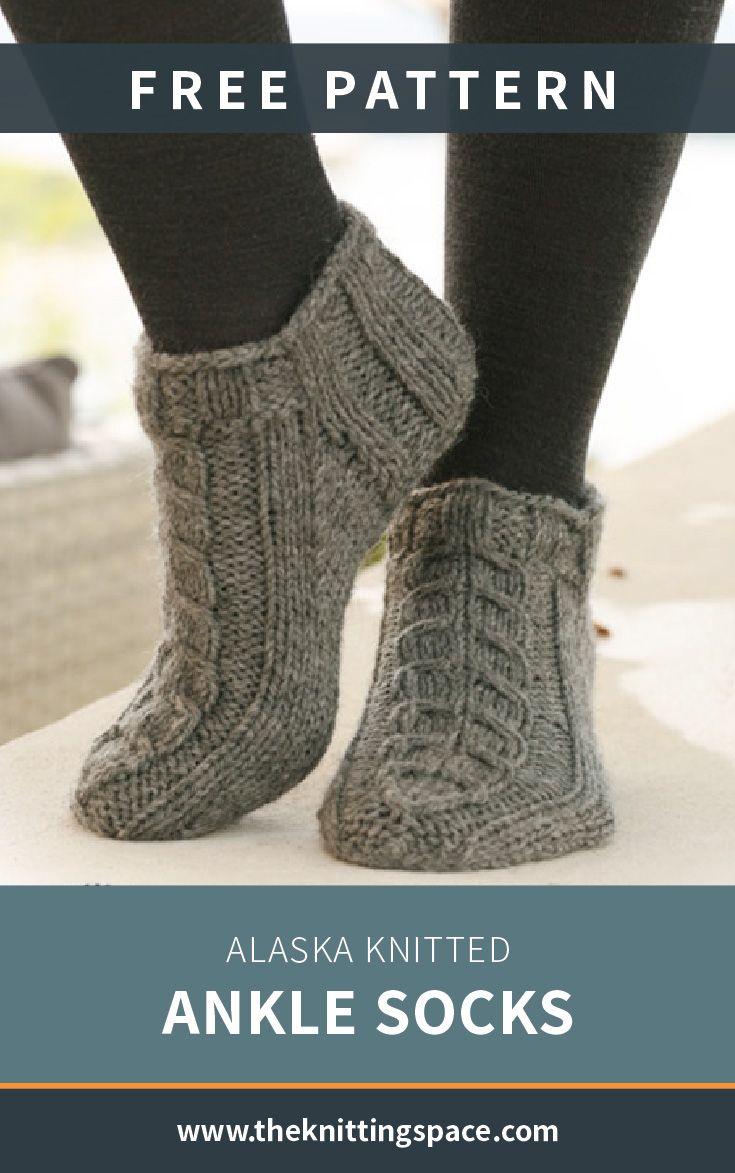 Photo of Alaska Knitted Ankle Socks [FREE Knitting Pattern]