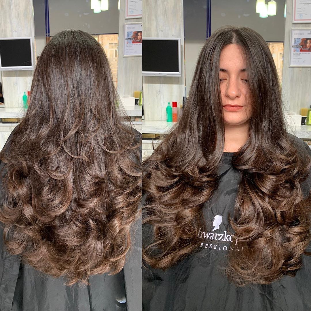 651 Curtidas 13 Comentarios Gunay Salmanova Stilist Vizajist Gunay No Instagram Italyanka Kesimi Ve Havali Buruqlar 0518460060 Cheveux