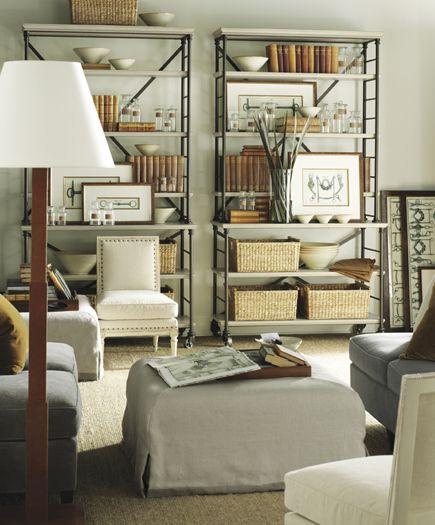 Hickory Chair Suzanne Kasler Prado Bookcase Showroom Details Henredon Interior Design Showroom Living Room
