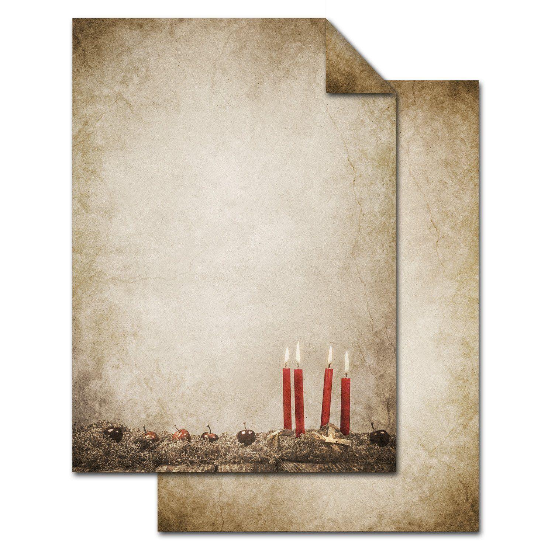 Briefpapier HERBSTLAUB 50 Blatt DIN A4 90g//m/² Motivpapier