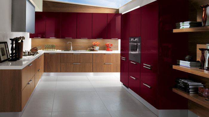 15 High Gloss Kitchen Designs In Modular Kitchen Colours Ideas For