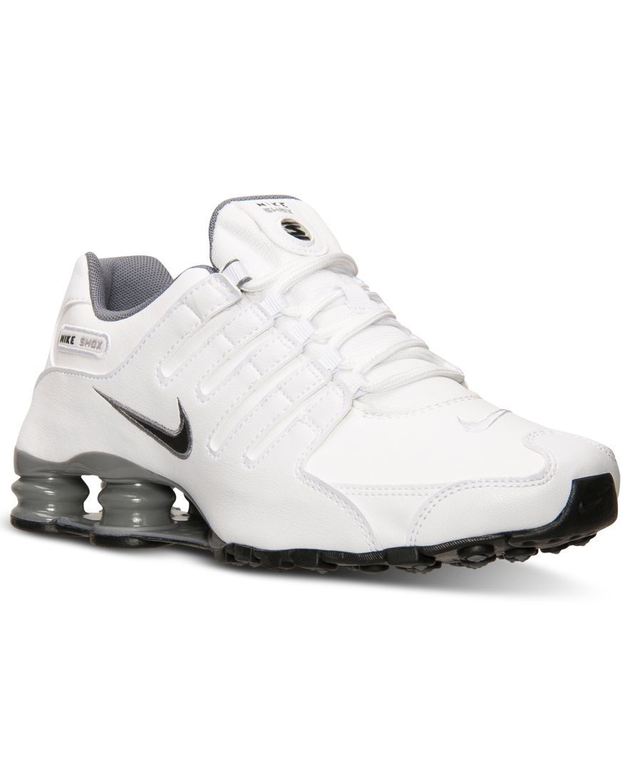 best service a7b6a d1e0e Nike Men s Shox Nz Running Sneakers from Finish Line