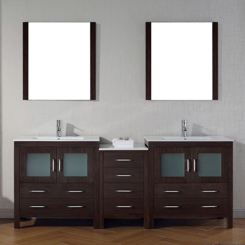 Knighten Modern 24 Single Bathroom Vanity Set Double Sink