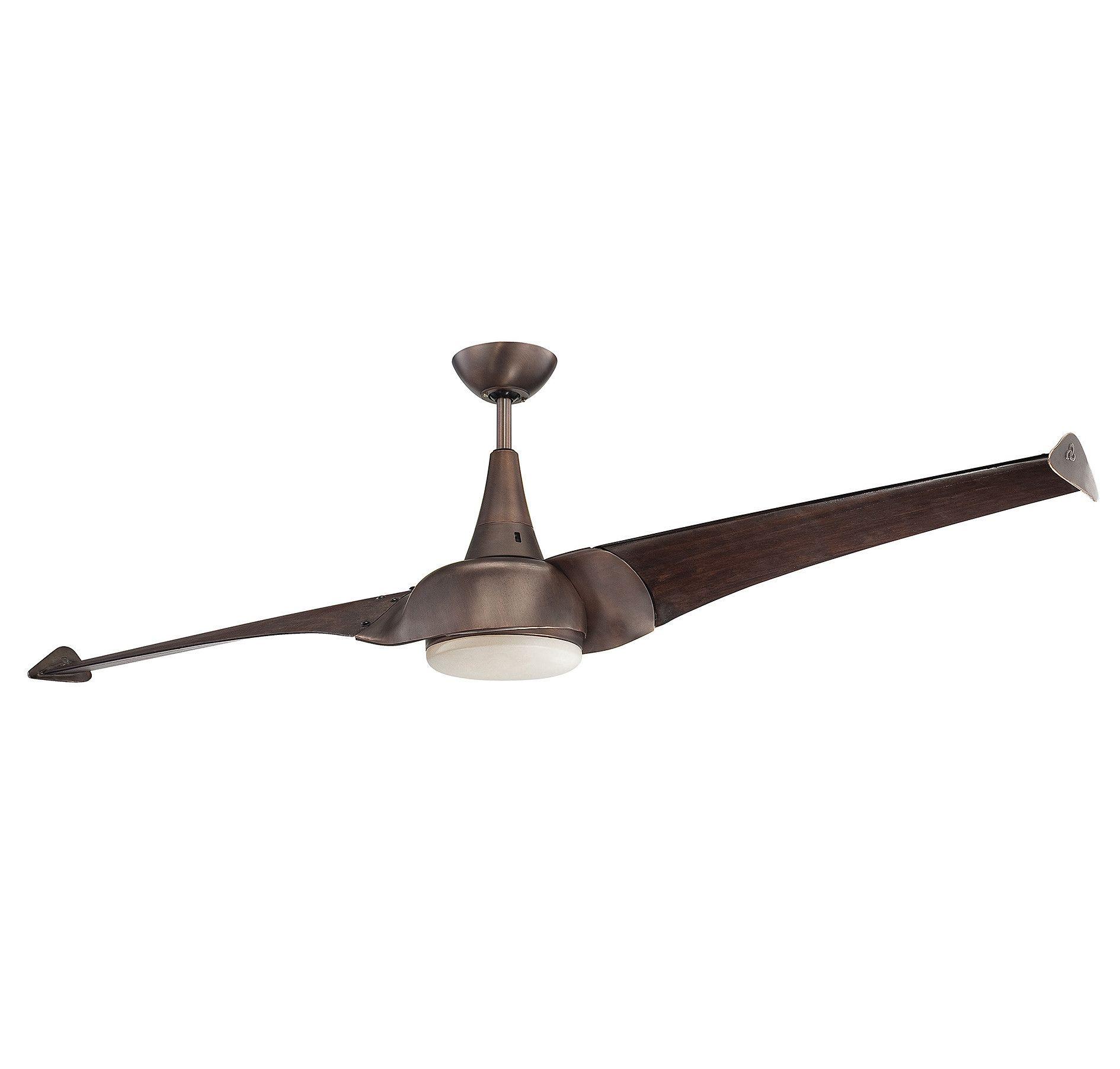 68 Anderson 2 Blade Ceiling Fan Ceiling Fan Bronze Ceiling Fan Modern Ceiling Fan