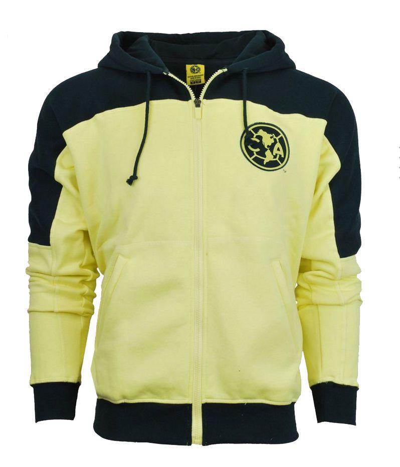 e348f7267 Club America Hoodie Youth kids Boys Zip Front Fleece Sweatshirt Jacket  aguilas  RHINOX  Amrica