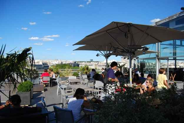 14 Awesome Outdoor Rooftop Bars And Restaurants In Paris