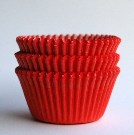 Red Cupcake Liners Red Baking Cups Valentine S Cupcakes 100