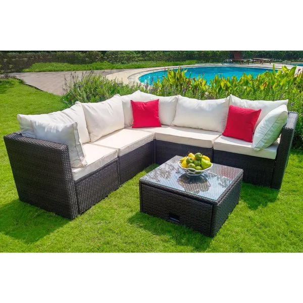 Overstock Com Online Shopping Bedding Furniture Electronics Jewelry Clothing More Wicker Patio Sectional Outdoor Deck Furniture Patio Sectional