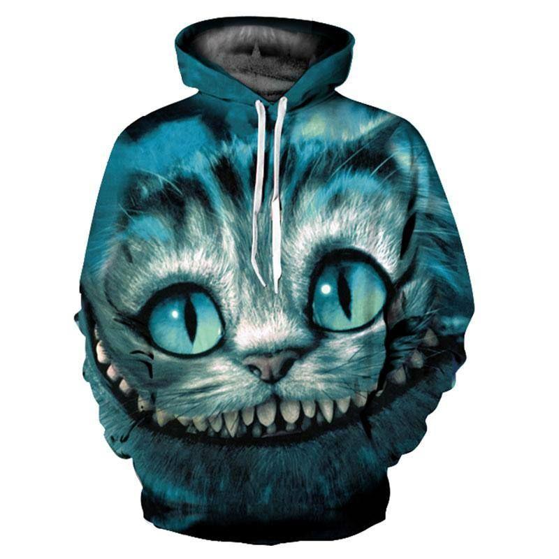 Kids Casual Dinosaur 3D Printed Boys Hoodies Cute Animals TopsJumpers Pullovers