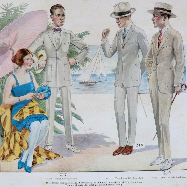 1921 Men S Palm Beach Suits