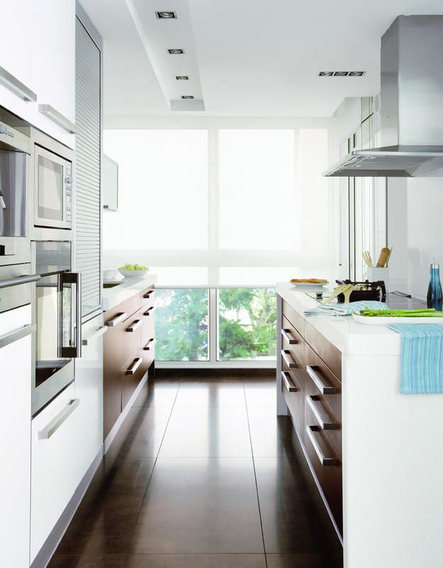 Ideas para reformar y organizar tu cocina mironu for Diseno cocinas paralelo
