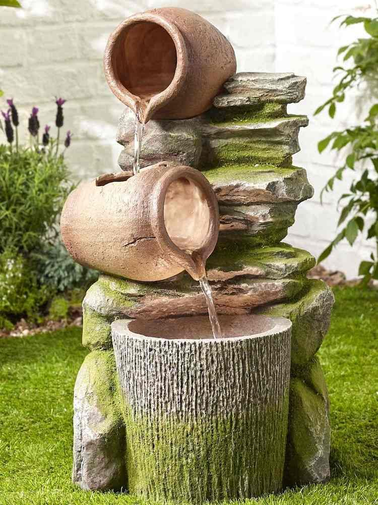 Photo of Build an outdoor fountain to bring harmony to the garden