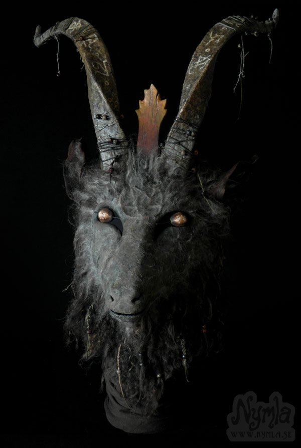 This Baphomet Goat Mask might be my favourite mask I've made