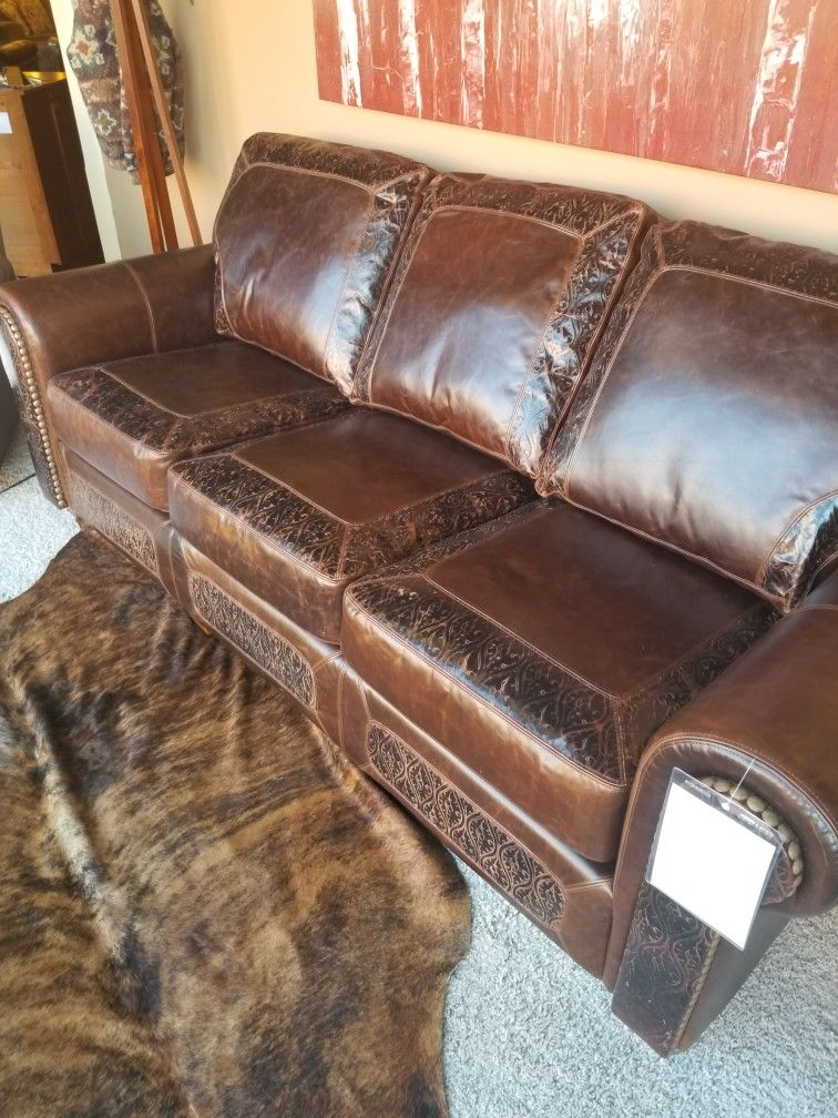 Beautiful quality sofa by Legacy Leather Fitterer s Furniture