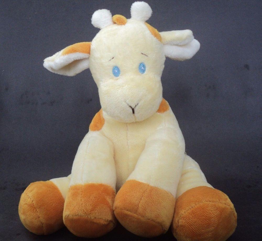 Baby Ganz Musical Wind Up Giraffe Plush Stuffed Toy Yellow Chim Chim ...