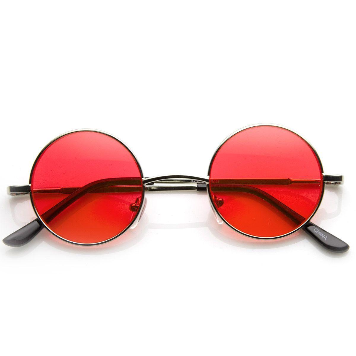 5b8cddffba Red Circle Lens Glasses, Circle Sunglasses, Circle Lenses, Round  Sunglasses, Ozzy Osbourne