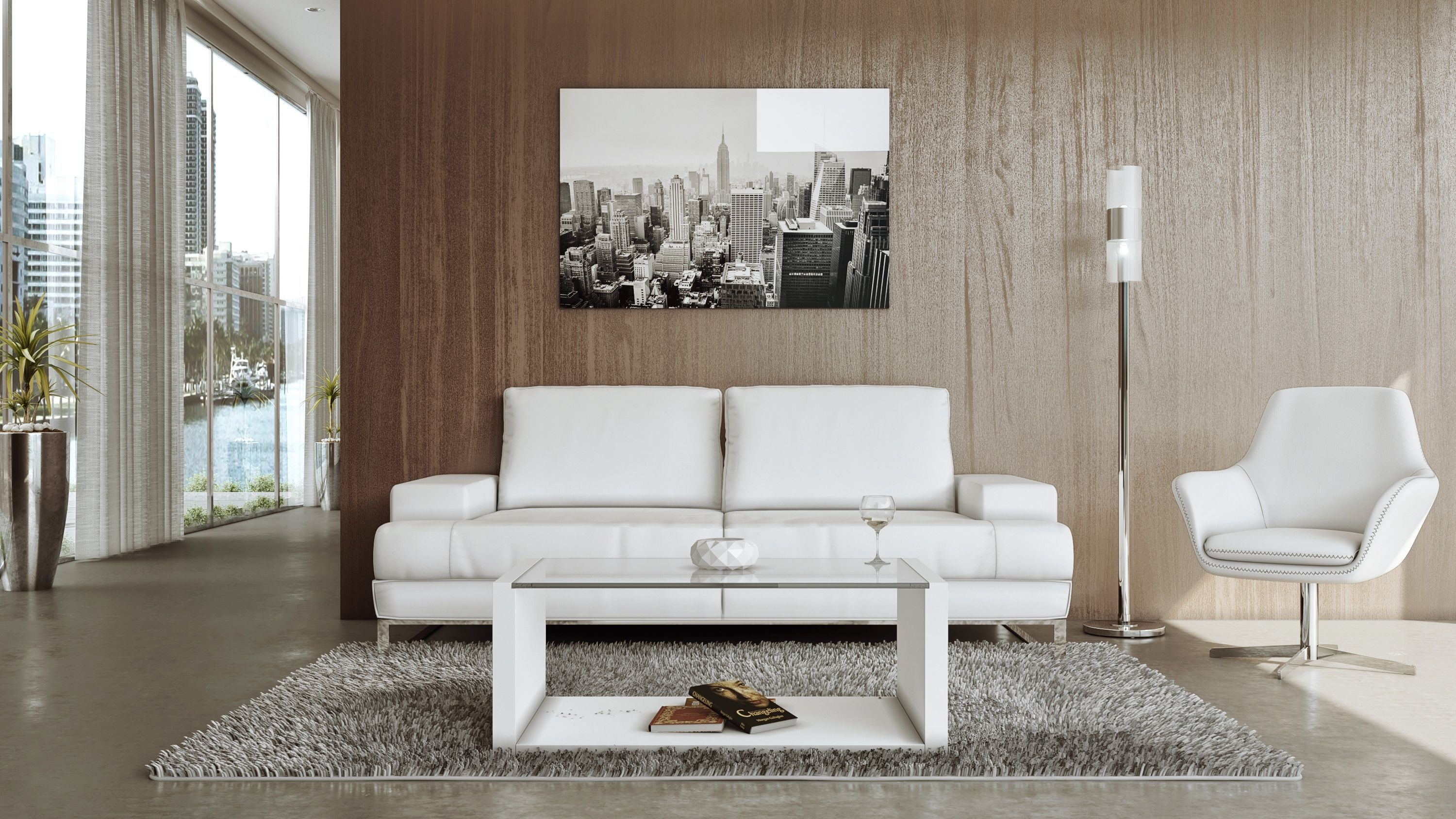 Ethan Sofa White Modern and pact the Ethan Sofa projects a