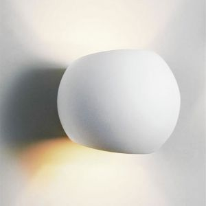 Yoga Wall Light : glf-spherical-led-plaster-wall-light interior-lighting wall-lights - Lightworks Online Yoga ...