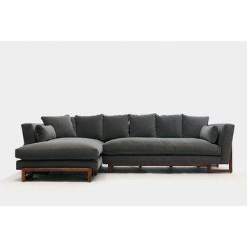 ARTLESS LRG Sofa and Ottoman