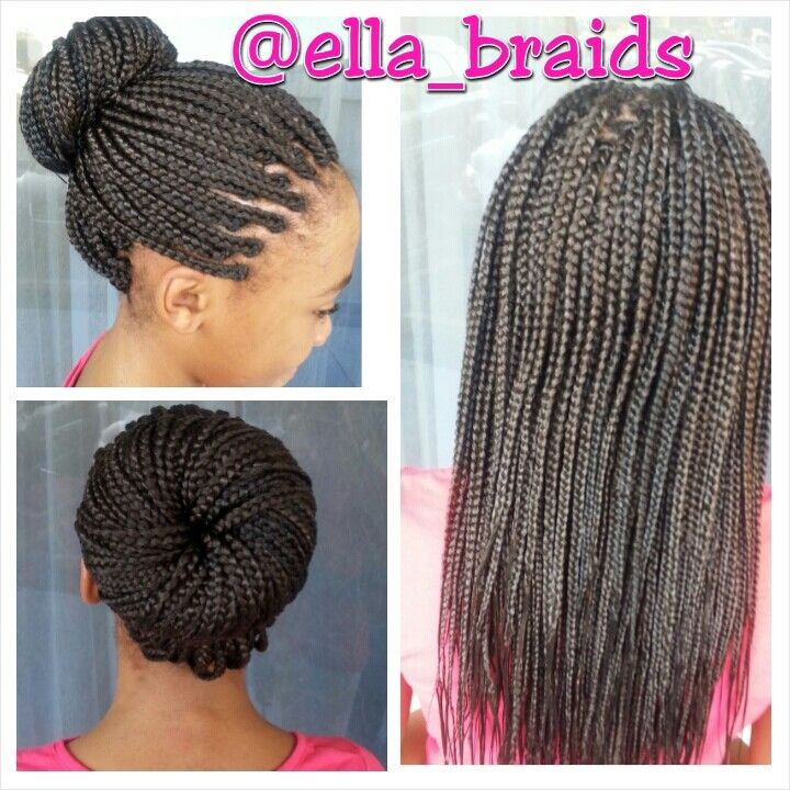Braids By Design Single Braids Hairstyles Hair Styles Braided Hairstyles