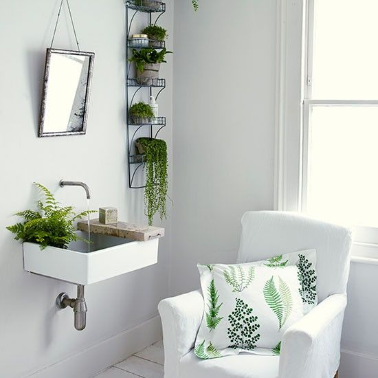 Charcoal grey and white living room   Living room decorating    housetohome co uk   Plants BathroomGreen. Charcoal grey and white living room   Living room decorating