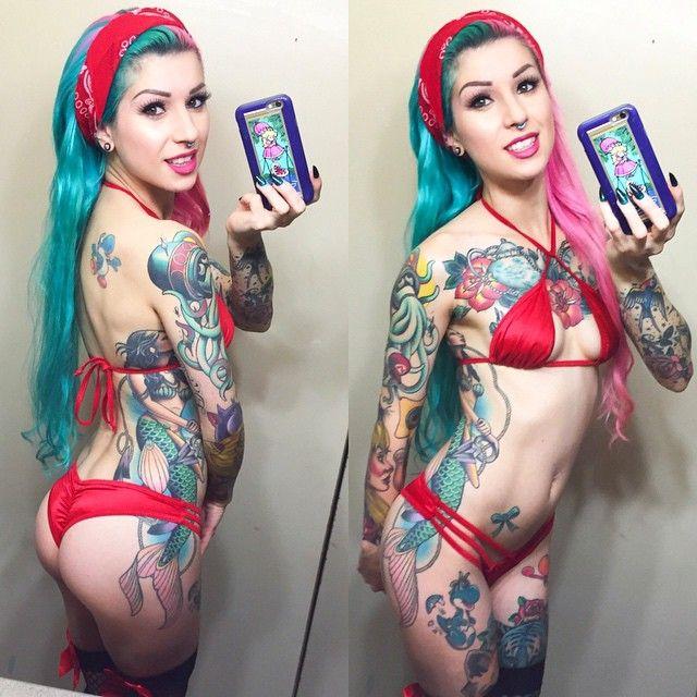 Tattoo sluts in bed foto 475
