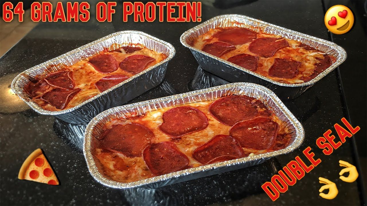 High Protein Bodybuilding Deep Dish Pizza Healthy Low