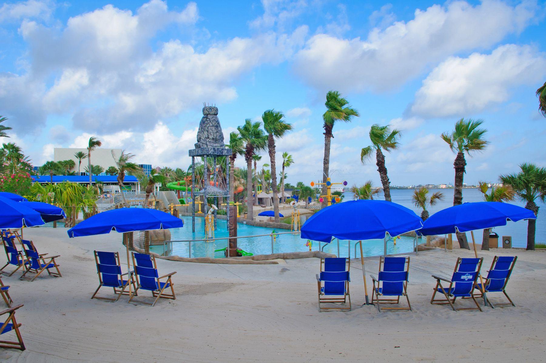 Palm Beach Moody Gardens Galvestonisland Beachtrip