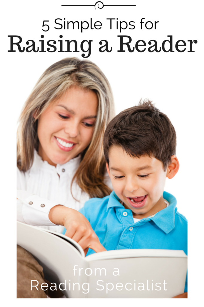 Busy Kids Happy Mom: Tips for Raising a Reader from a Reading Specialist. Pinned by SOS Inc. Resources. Follow all our boards at pinterest.com/sostherapy/ for therapy resources.