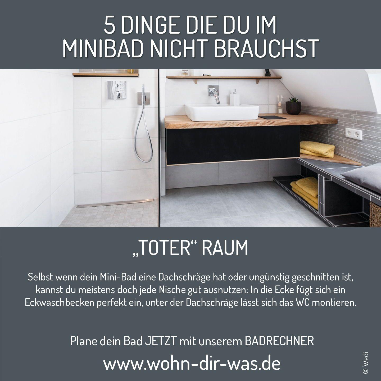 Finde Jetzt Dein Traumbad Wertvolle Tipps Von Der Planung Bis Zur Umsetzung In 2020 Badezimmer Dekor Mini Bad Eckwaschbecken