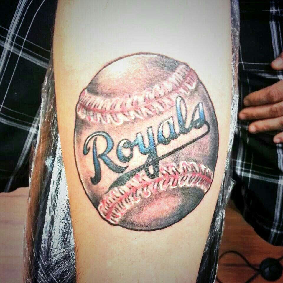 Kansas city royals tattoo tattoos pinterest tattoo for Kansas city tattoo