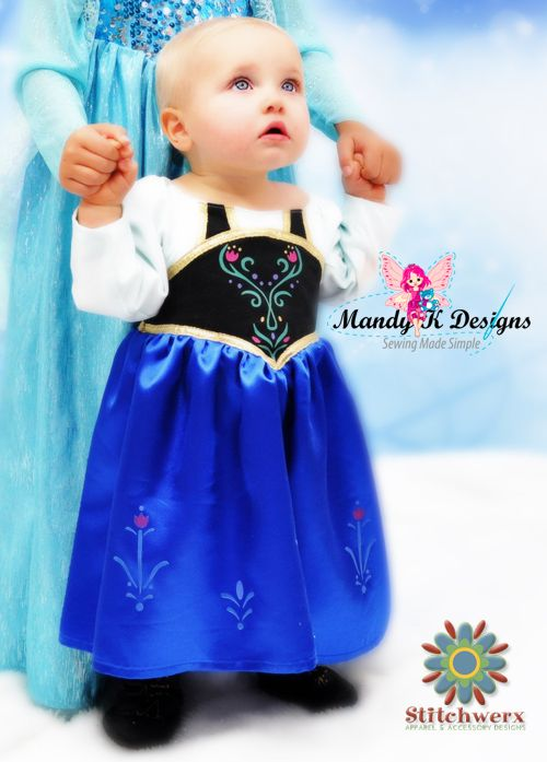 15+ Awesome DIY Princess Anna Costume Tutorials for Little Girls ...