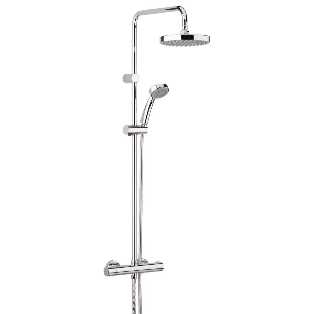 Bristan Carre Fastfit Bar Mixer Shower With Shower Kit Fixed