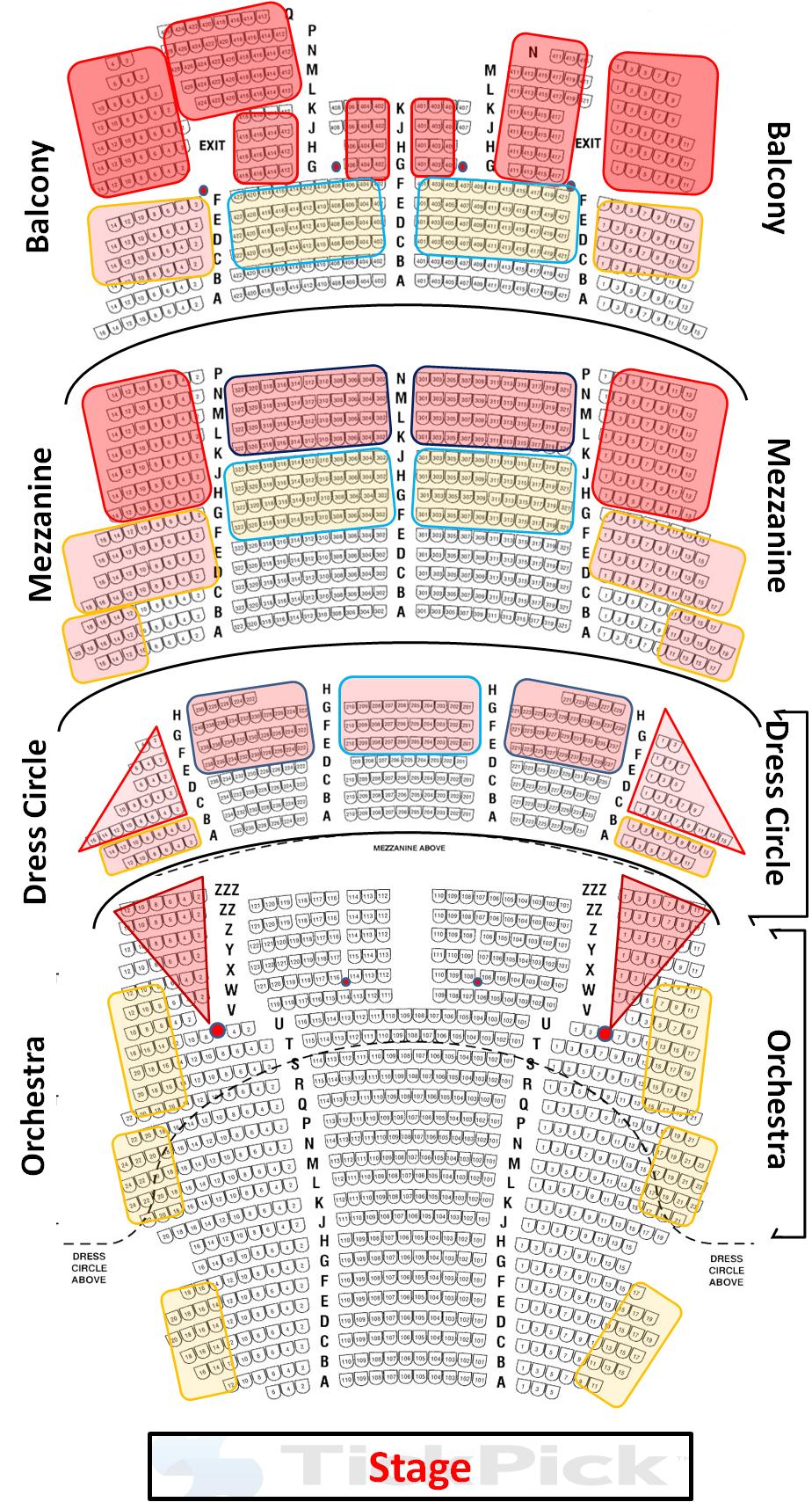 Mampt Bank Seating Chart