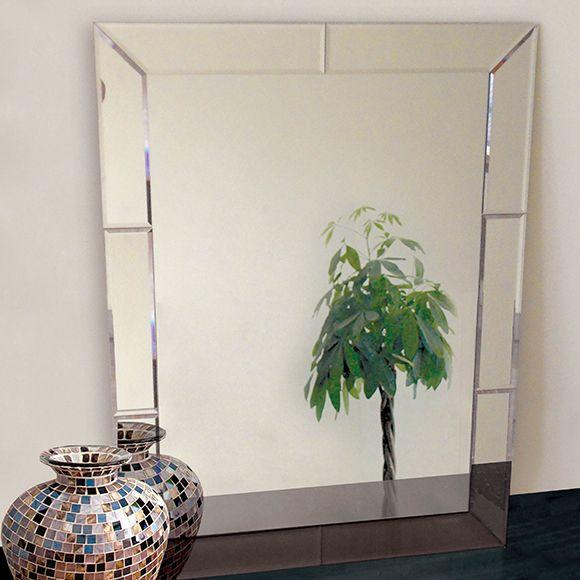 Espelho bisotado esp033 acervo casa sala comedor den for Espejos de cuerpo entero baratos