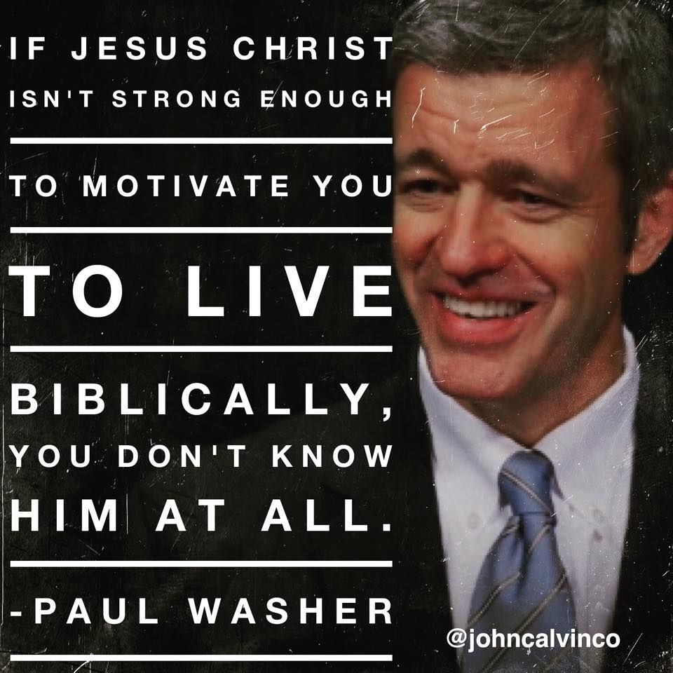 Paul David Washer (born 1961) is the Founder/Director