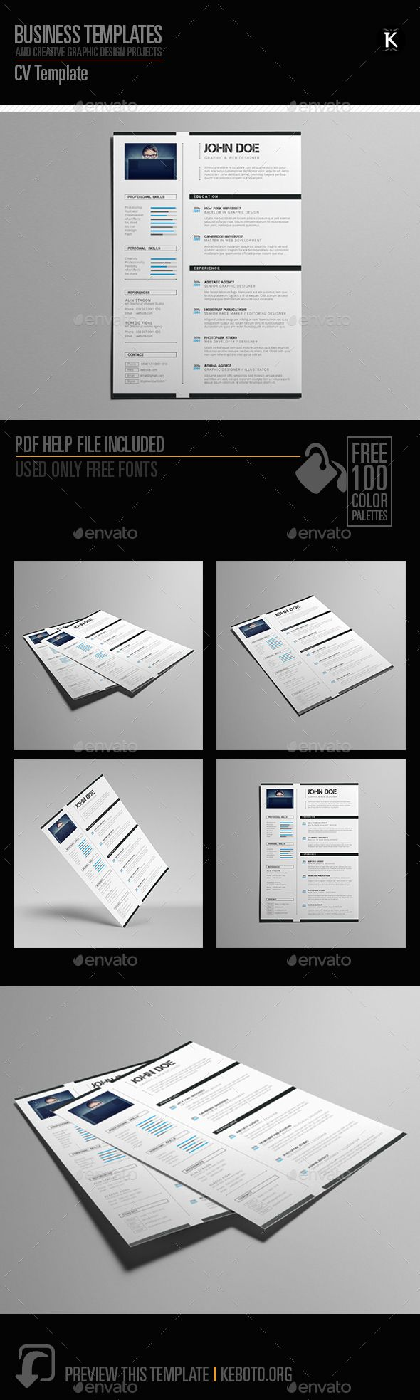 CV Template | Pinterest