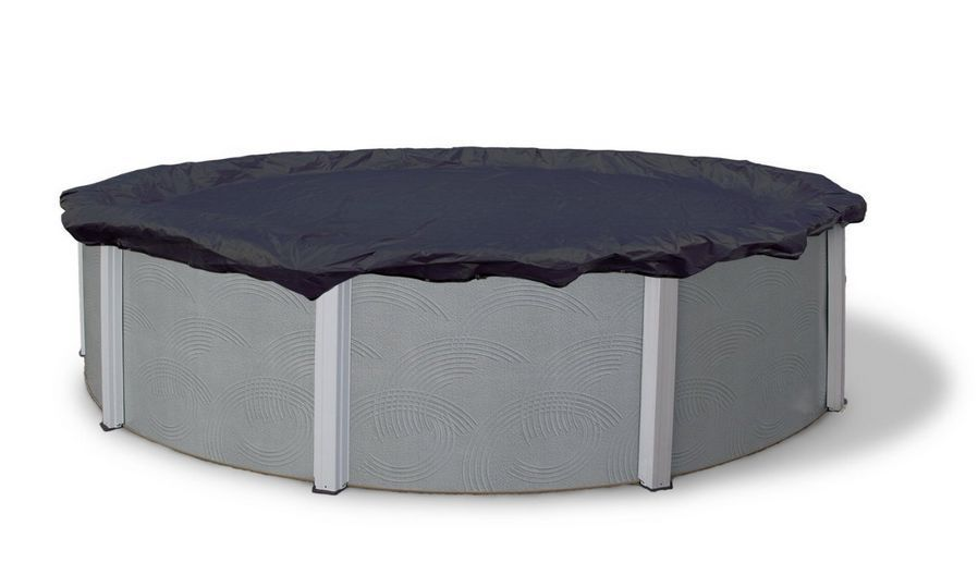 Deluxe 24 ft feet swimming pool round cover above ground